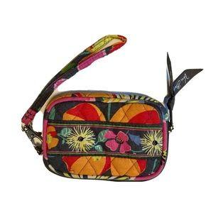 Vera Bradley Jazzy Blooms Card Case Wristlet
